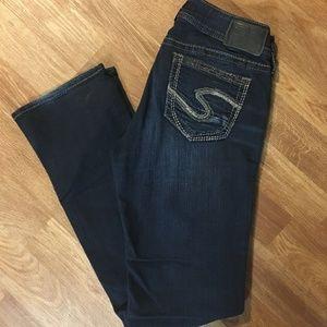 Silver Suki Slim Bootcut Jeans